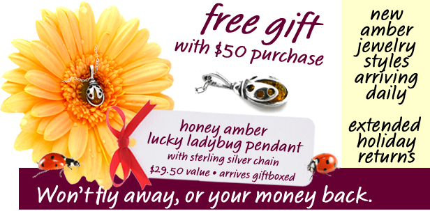 Amberjewelry.com's November 08 Gift with Purchase Opportunity