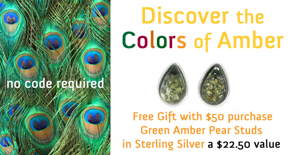 Discover the Colors of Amber: Gift with purchase opportunity