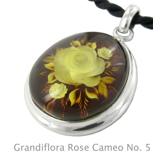 Grandiflora amber rose cameo