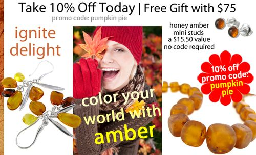 Ignite Delight: Warm Up Your Winter With Authentic Amber Jewelry