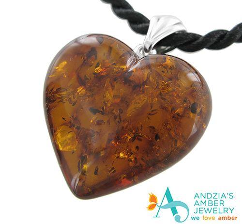 G heart 2013 amber heart