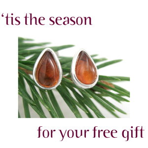 Amberjewelry.com's New Holiday Gift with Purchase
