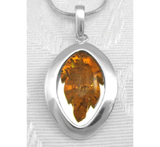 Amber_carved_leaf_jewelry_sterling_silve