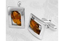 Mens_amber_cufflinks_leaf_motif_1